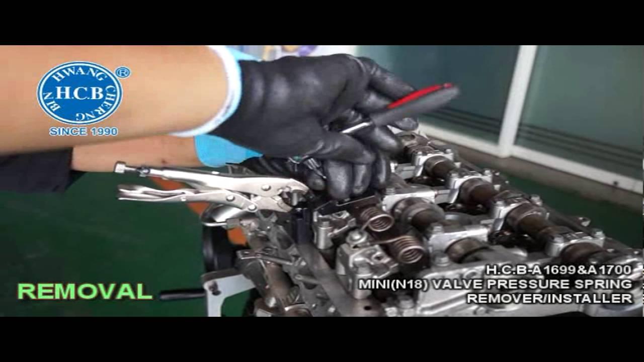 H C B-A1699&A1700 MINI(N18) VALVE SLIDER HOLDING PLIER