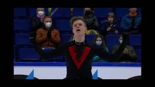 Евгений Семененко Произвольная программа Finlandia Trophy 2021