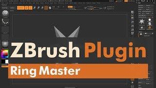 Ring Master - Pixologic's ZBrush Plugin