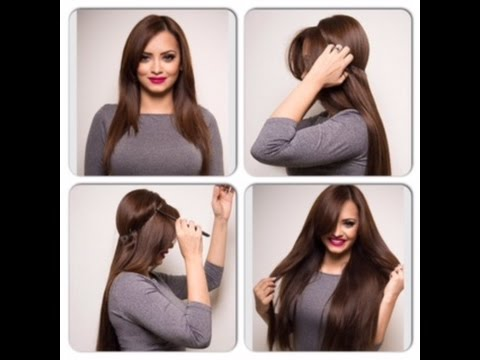 how to wear halo hair extensions