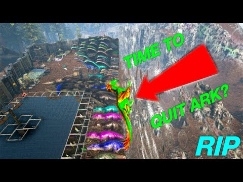Ark: Time to finally quit ark/ my Mega tribe?!?( insided, wiped, glitches )(10k special) Ep.33