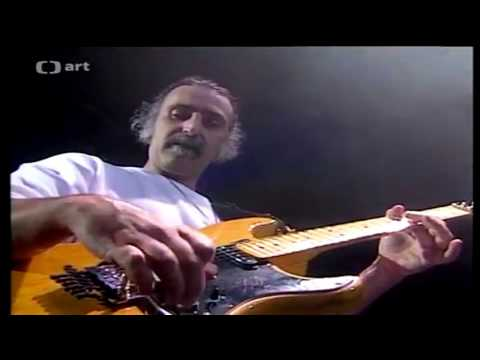 "Frank Zappa ""- Reggae Guitar Solo -"" Last Live Performance Prague 1991[Full HD]"