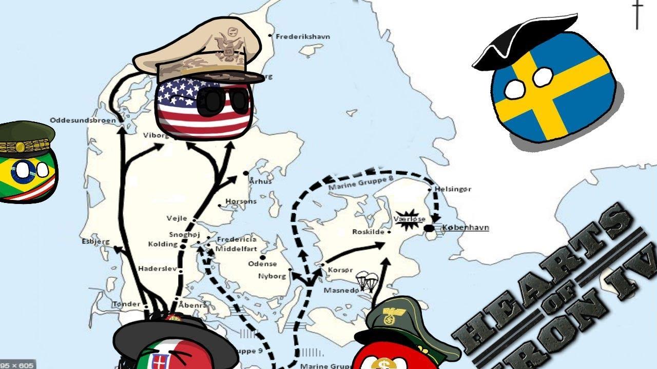 The Danish Belts - Hoi4 MP In A Nutshell