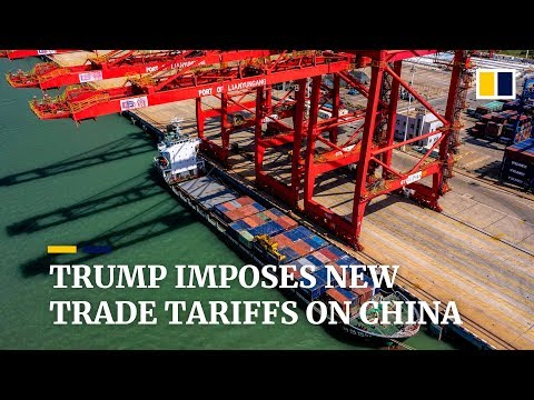 Trump imposes new tariffs on US$300 billion worth of Chinese goods days after latest trade talks