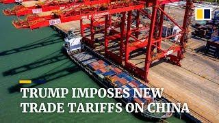 Trump imposes new tariffs on US$300 billion worth of Chinese goods days after latest trade talks