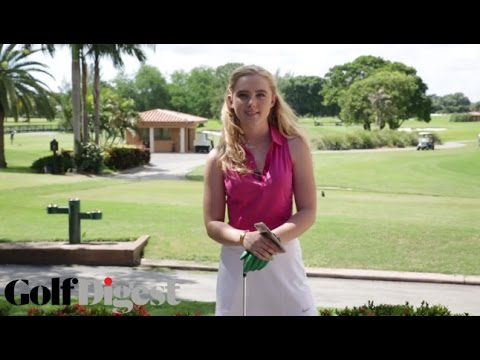 How To Golf with Kathryn Newton: How To Act Like A Golfer (Part 1)