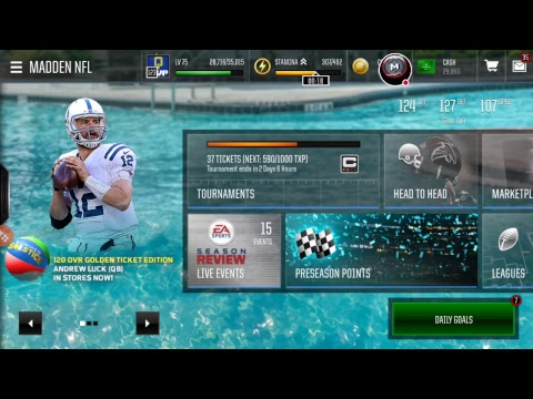 My Madden NFL Mobile Stream