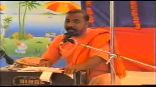 Swami Shivom Tirth ji Maharaj at Chhindwara Pravachan after THIRAKAT THIRAKAT NAACHAT MEERA
