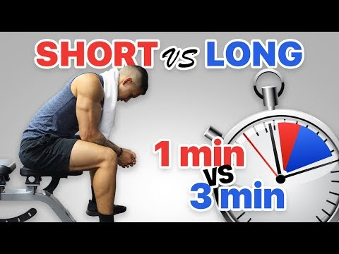 Short vs Long Rest Periods for Muscle Growth
