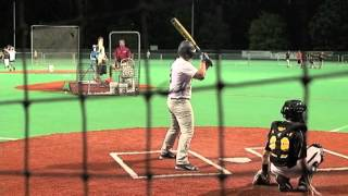 12 year old Matt Dellaquila hits 340 foot bomb at homerun derby