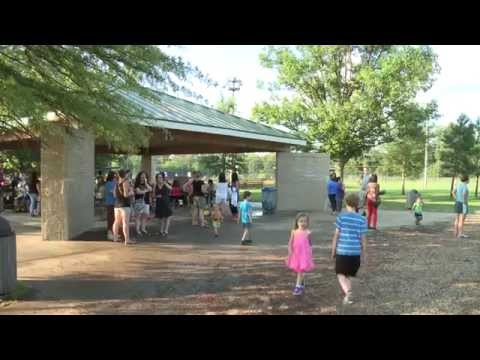Teachers in the Park with Dranesville Elementary School