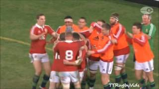 The best tries of the 2013 lions tour