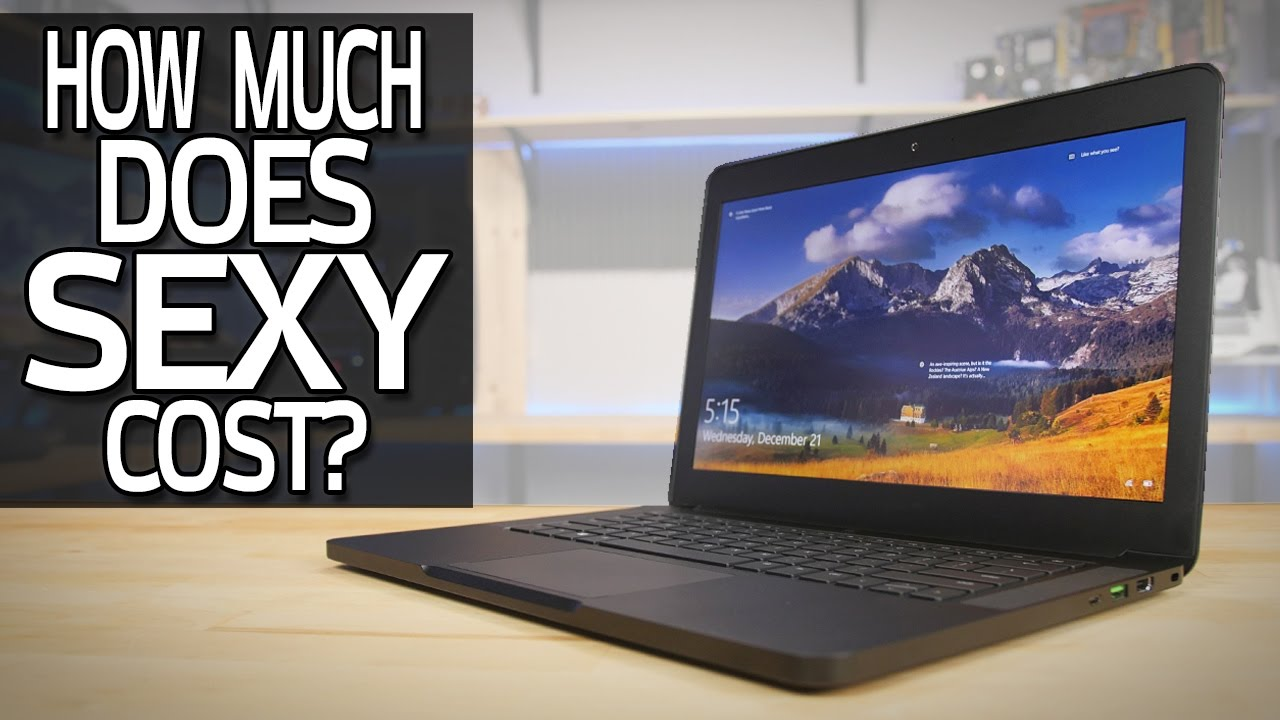 Razer Blade 2016  GTX 1060 Review  How Much Does Sexy
