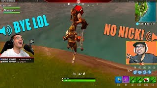 These are my FAVORITE moments playing Fortnite with SanchoWest!