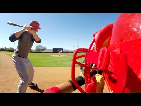 GoPro Baseball: CJ Wilson  Behind the Eyes
