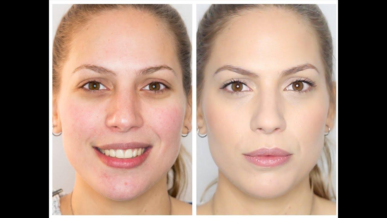 Maquillaje Para Corregir Pieles Con Rojeces Youtube