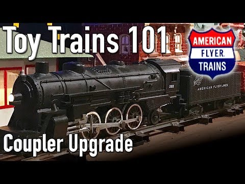 American Flyer Link To Knuckle Coupler Replacement Toy Trains 101