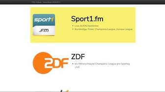 KOSTENLOS & LEGAL ⚽ Geheimtipps zum Fußball gucken – Bundesliga, Champions League, Europa League