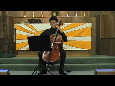 Andrew Park, Prelude from Cello suites #3, in C