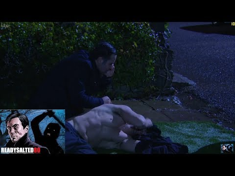 Emmerdale - Graham Finds And Helps Ross After The Acid Attack