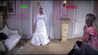 Penny in her underwear, Amy as maid of honor - the big bang theory