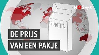 Zoveel kost roken over de grens