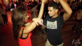 Amely & Eddie Torres Jr At Stepping Out Studio - Salsa Social