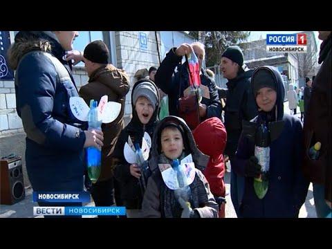 Ежегодный ракетный фестиваль прошел в новосибирском Академгородке