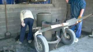 Concrete pipe manhole machine METALIKA C...