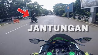 (SUNMORI) KEJADIAN TAK TERDUGA #motovlog indonesia