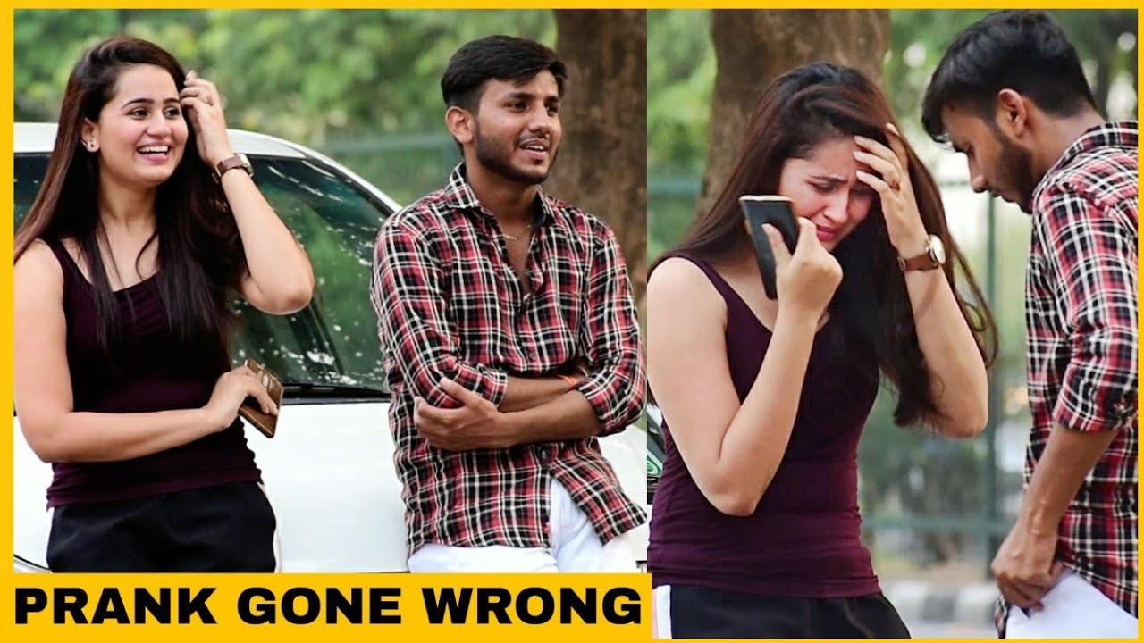 Prank On My Friend's Girlfriend | Prank Gone Wrong | Gaurav Rathi