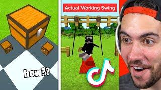TikTok Build Hacks Y๐u NEED To Try In Minecraft!