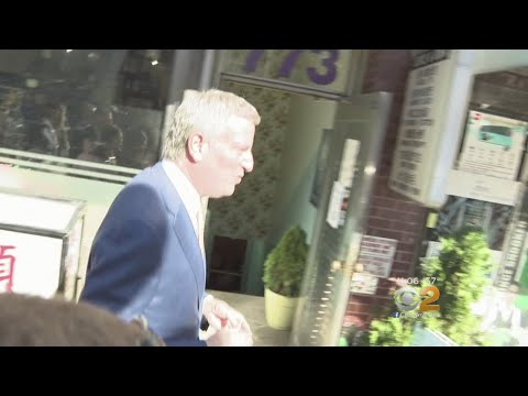 De Blasio Dodges Corruption Questions