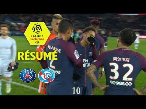 Paris Saint-Germain - RC Strasbourg Alsace (5-2)  - Résumé - (PARIS - RCSA) / 2017-18