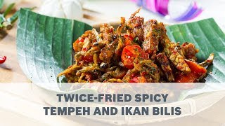 Twice-Fried Spicy Tempeh and Ikan Bilis Recipe - Cooking with Bosch