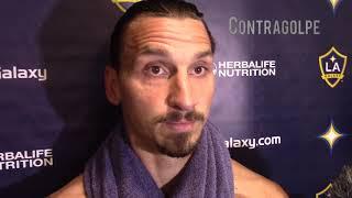 Contragolpe -Zlatan Ibrahimovic 'irritated' by LA Galaxy play