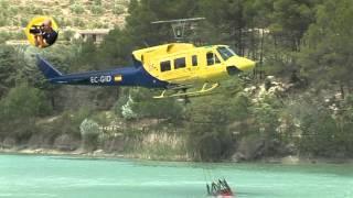 Video de elicoptero en el Bosquet