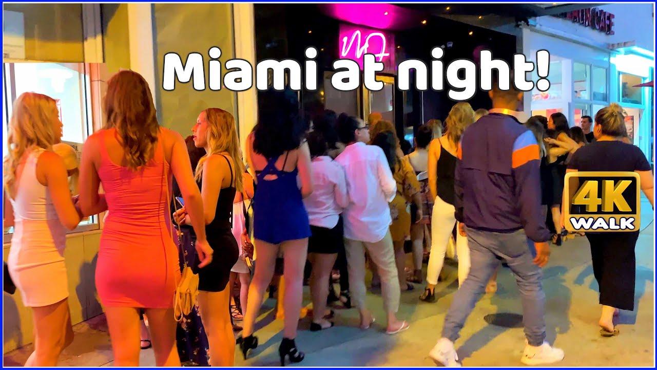 Download 4K WALK Miami Beach 4k VIDEO South Beach Florida documentary