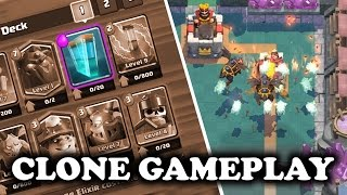 Clash Royale | Clone Spell Gameplay | Attack of the Clones