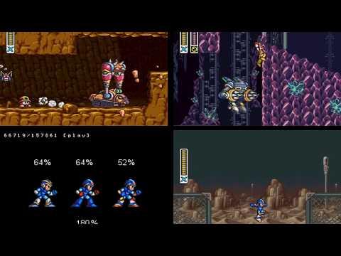 [TAS] SNES Mega Man X & Mega Man X2 & Mega Man X3