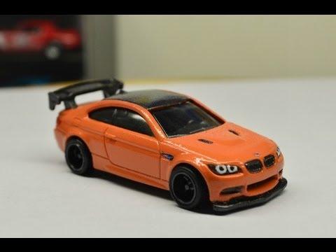 Custom Hot Wheels 2010 Bmw M3 Youtube