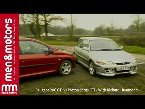 Peugeot 206 GTi vs Proton Lotus GTi - With Richard Hammond