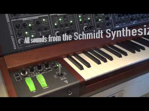The Schmidt Synthesizer Part 2