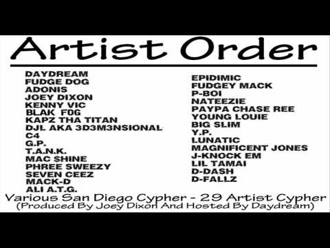 Various Artists - San Diego 29 Artist Cypher