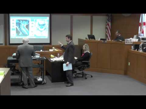 Dr Michael Foley, MD Radiologist testifies about radiology studies