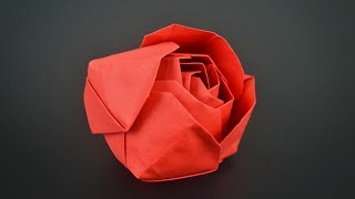 Origami: Modular Rose - Instructions in English (BR)