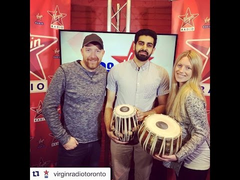 Shobhit Jams with Virgin Radio Toronto!