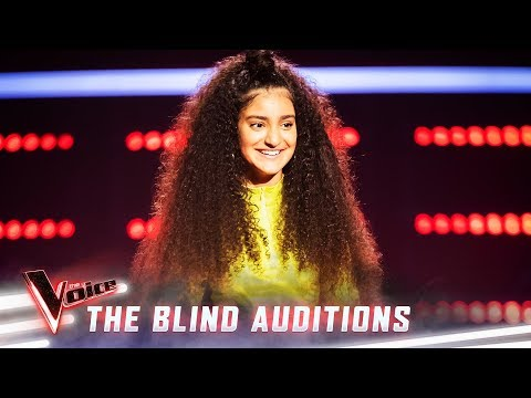 The Blinds: Lara Dabbagh sings 'Scars To Your Beautiful'  | The Voice Australia Season 8