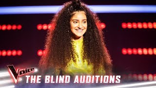 The Blind Auditions: Lara Dabbagh sings 'Scars To Your Beautiful'  | The Voice Australia 2019