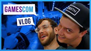 1 nicer GamesCom Vlog / von Inhalt her